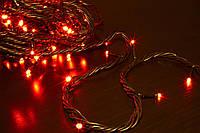 Светодиодная ГИРЛЯНДА НИТЬ,10 метров -красный, фото 1