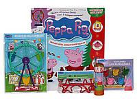 Свинка Пеппа. Журнал. Специальный выпуск. Новогодний (+ набор игрушек)