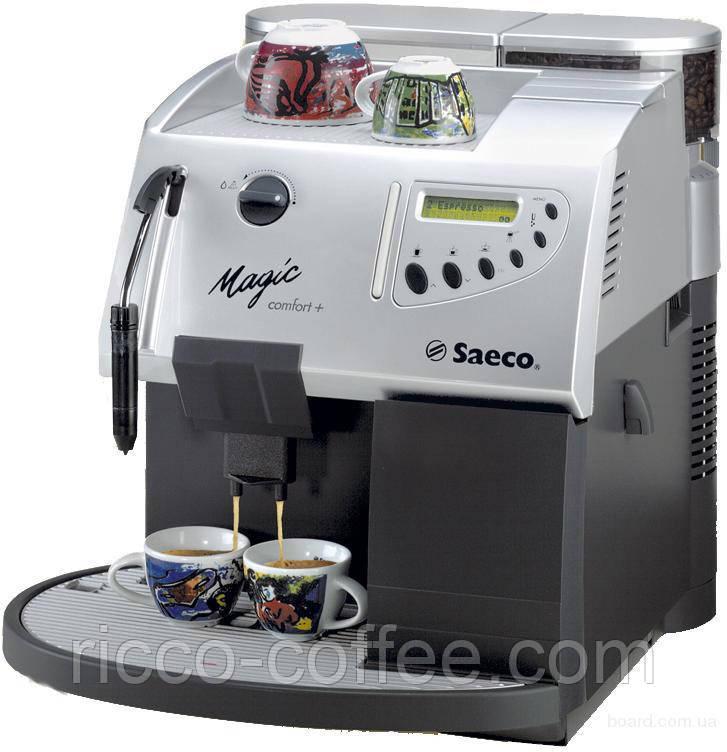 Бесплатная аренда кофемашин Saeco для баров