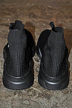 Мужские и женские кроссовки Balenciaga Speed Trainer Sock Black, фото 3