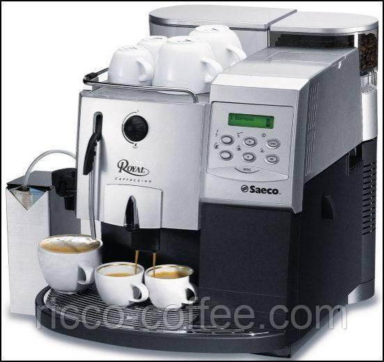 Бесплатная аренда кофемашин Saeco для магазинов
