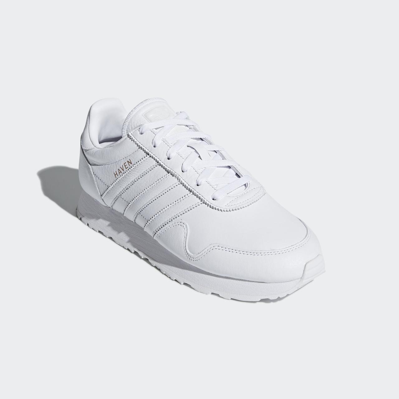 Мужские белые кроссовки Adidas Originals Haven CQ3037 - 2018 65990e4d4daf3