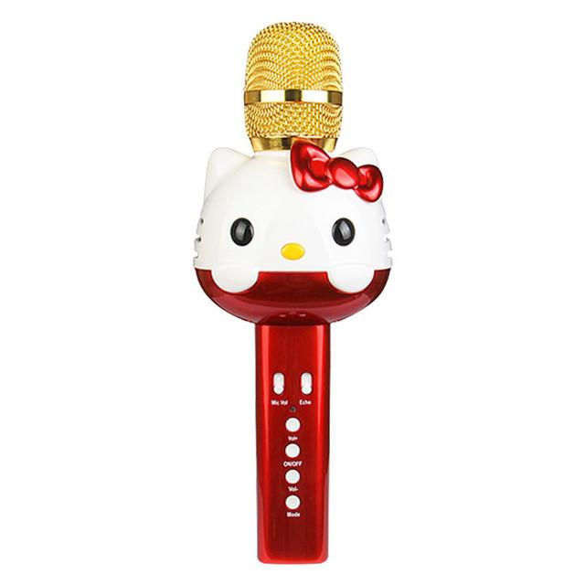 Детский портативный караоке микрофон  с колонкой Hello Kitty U63