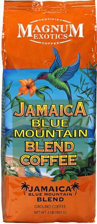 Кофе Magnum Exotics JAMAICA BLUE MOUNTAIN BLEND в зернах 907 г