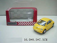Моделька kinsmart volkswagen new beetle