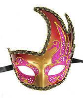 Маска венецианского карнавала женская Лебедь