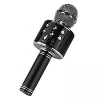 Беспроводной караоке микрофон - колонка 2в1 Wster WS-858
