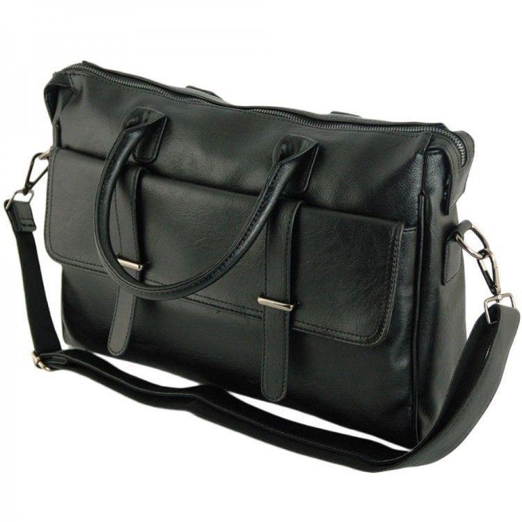 76e38c0aec97 Сумка-портфель с карманом для ноутбука Traum арт. 7170-10 - Интернет-