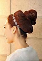 Греческая повязка на волосы металлическая