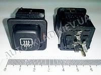 Включатель-кнопка обогрева зад. стекла ВАЗ 21083-99, Псков (376.3710-04.04М)