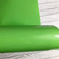 Термотрансферная пленка матовая , цвет салатовый