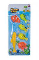 Рыбалка 508-16 магнит.удочка, 5 рыбок, на планшетке 41*18*4 см