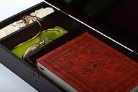 Історія Біблії Старого на Нового Заповіту в гравюрах / Bible History of the Old and New Testaments (+ лупа і подарунковий короб з дерева)