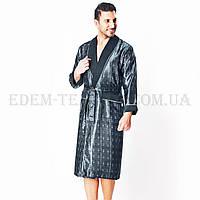 Шелковый мужской халат Турция Nusa 8015-2
