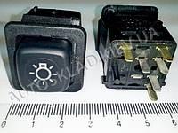 Включатель-кнопка света (ближний, габариты) ВАЗ 2108, Псков (375.3710-07.05М)