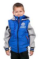 """Демисезонная куртка жилет для мальчика """"Франклин"""", фото 1"""