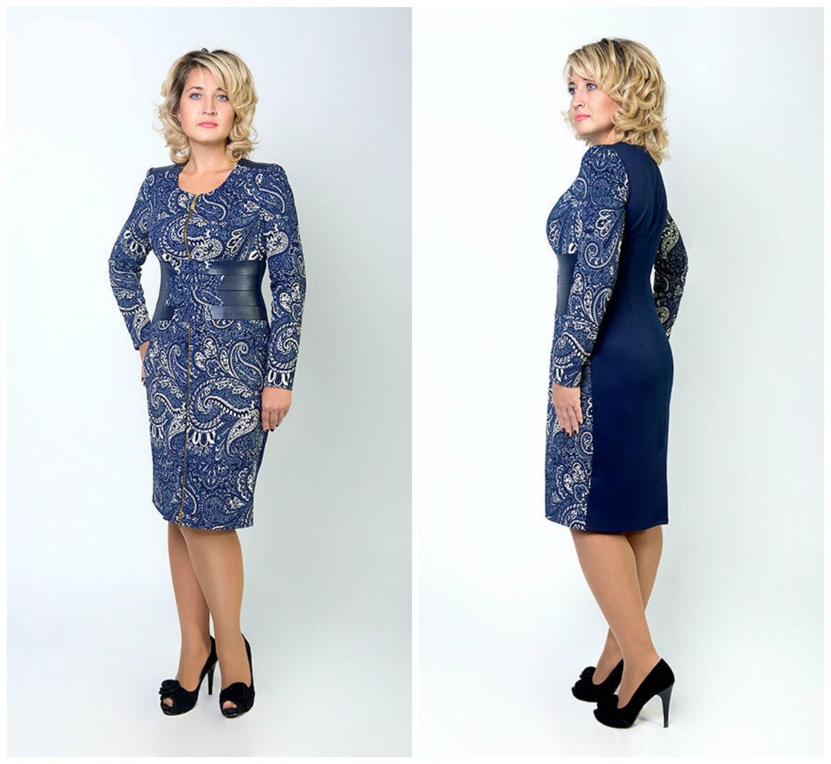 Платье Кармен 8038, в расцветках