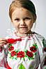 Вышиванка детская с цветочным узором Мак Ларисочка, фото 4