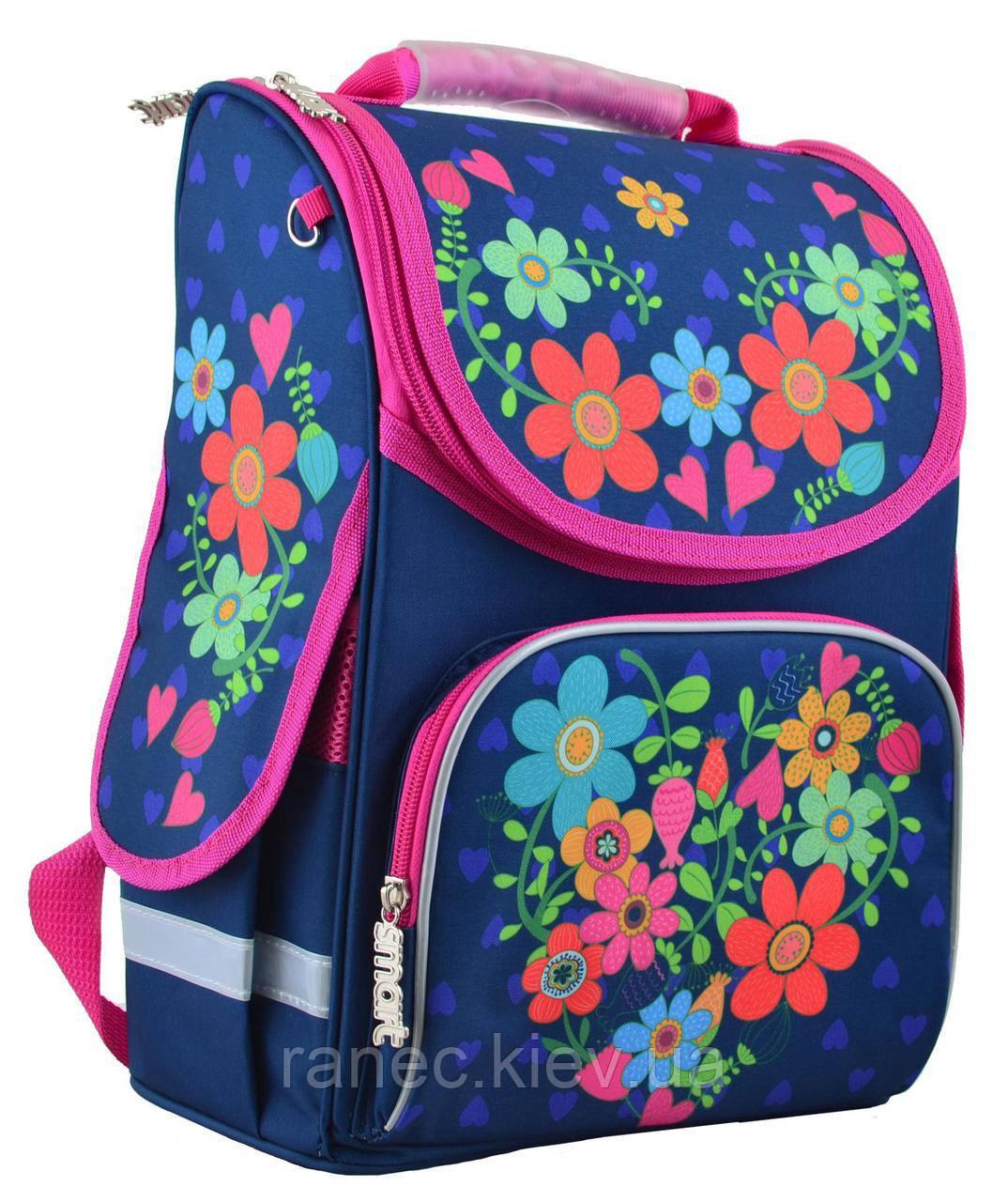 753b54276a54 Рюкзак Каркасный Smart PG-11 Flowers Blue 554464 — в Категории ...