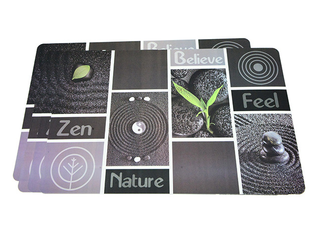 Сервірувальні килимки на обідній стіл Fissman (Комплект з 4-х шт., пластик)