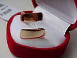 Стильные золотые серьги, фото 2