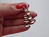 Эксклюзивные золотые серьги, фото 3