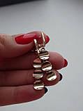 Эксклюзивные золотые серьги, фото 4