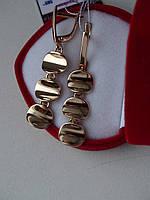 Эксклюзивные золотые серьги, фото 1