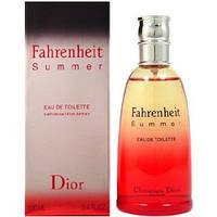 "Туалетная вода Christian Dior ""Fahrenheit Summer "" 100ml Мужская парфюмерия"