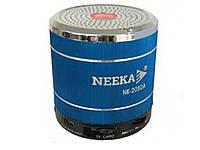 Портативна колонка Fm-радіо NEEKA 2080A  синій