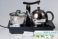 Индукционная плита с посудой (Индукционная плита, чайник, кастрюля), фото 1