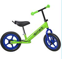 Детский беговел PROFI KIDS 12 д. M 3473-4, ева колеса,зеленый ***