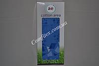"""Подарочное махровое полотенце лицевое Cotton Area """"Синий"""" 50х90  - Турция 2612"""