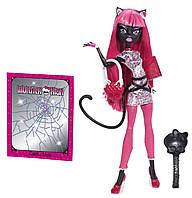 Кукла Монстер Хай Кэтти Hуар Новый Скарместер (Monster High Catty Noir New Scaremester)