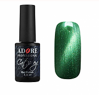Цветной гель-лак для ногтей Кошачий глаз Adore №С06