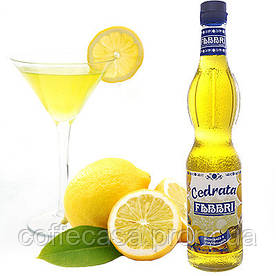 Сироп  классический  FABBRI  Cedrata   (лимонн) -  560 ml.