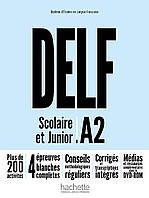 Delf Scolaire et Junior: Livre A2 (+ DVD-ROM audio + video)