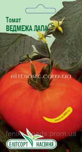 Семена томат Медвежья Лапа 0,1г ТМ ЭлитСорт