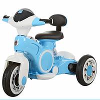 Детский мотоцикл-трицикл BAMBI M 3296L-4, синий ***