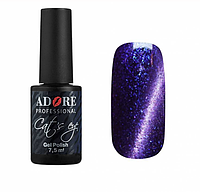 Цветной гель-лак для ногтей Кошачий глаз Adore №С17