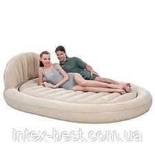 Двуспальная надувная кровать Bestway 67397 (215х152х60 см.) без насоса, фото 2