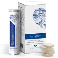 Шипучие таблетки от гипертонии Норматен (Normaten)