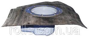 HL615KH Корпус дворового трапа серии Perfekt DN110 горизонтальный с битумным полотном.