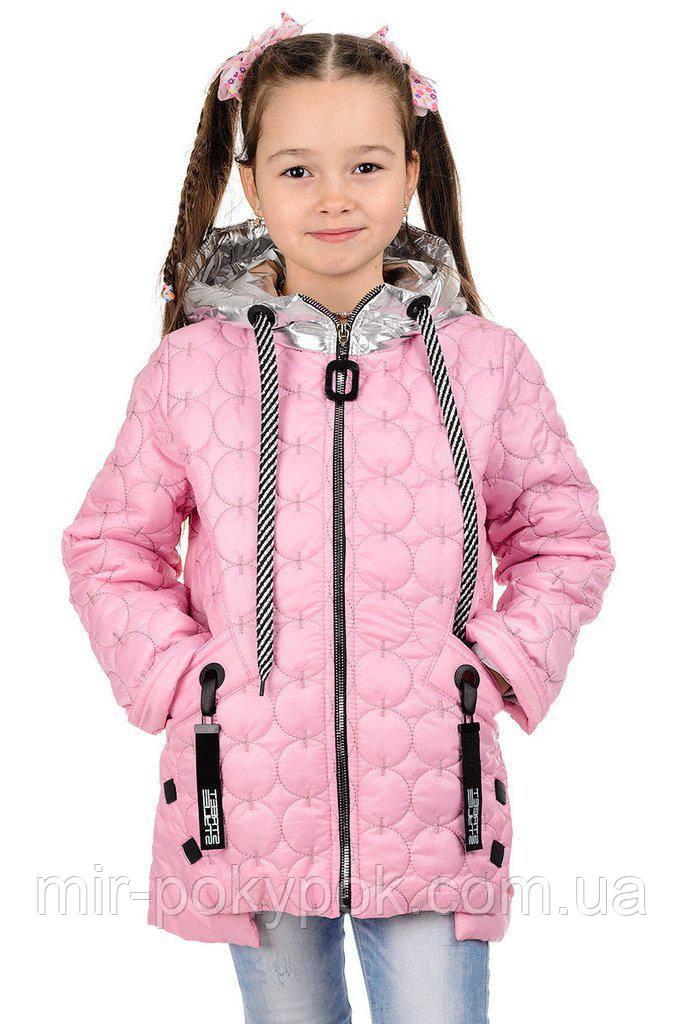 0883b9aa74f3 Весенняя детская куртка для девочки Тэффи - Интернет магазин