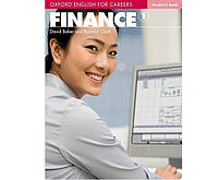 Oxford English For Careers: Finance 1: Student Book