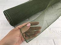 Сетка флористическая 900/50 см темно-зеленая