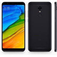 "Смартфон Xiaomi Redmi 5 Plus 3/32GB Black Global, 8 ядер, 12/5Мп, 6"" IPS, 2SIM, 4G, 4000мА"
