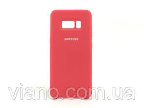 Силиконовый чехол Samsung galaxy S8 Plus (Красный) Silicone cover