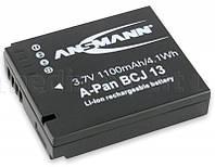 Аккумулятор ANSMANN до Panasonic A-Pan DMW BCJ 13 (1100 mAh)