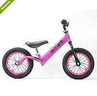 Детский беговел PROFI KIDS 12 д. M 3844 A-3, надувные колеса, розовый ***